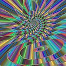 Spiraliridescence  by Hugh Fathers