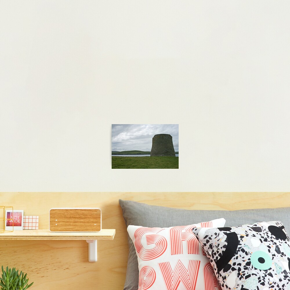 Mousa broch Photographic Print