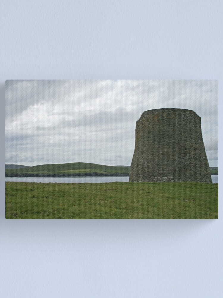 Alternate view of Mousa broch Canvas Print