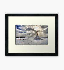 January Framed Print