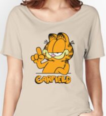 Garfield Presents Funny Women's Relaxed Fit T-Shirt