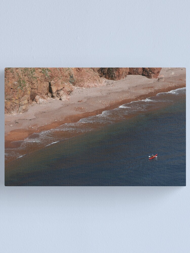Alternate view of Red Canvas Print