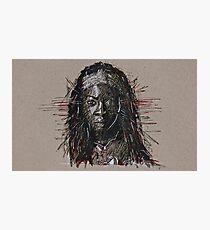 The Walking Dead Michonne Photographic Print