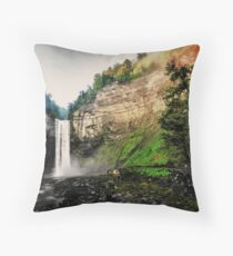 Finger Lakes Region of NY Throw Pillow