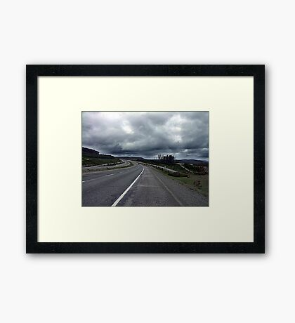 Long Road Ahead Framed Print