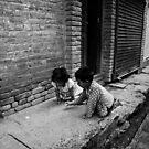 kids at play by SRana