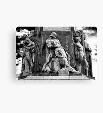 Lāčplēsis | The Bear Slayer Canvas Print