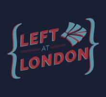 Left at London Kids Tee
