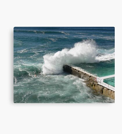 The surf's up! Canvas Print