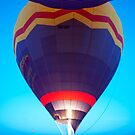 Up up and away - hot air balloon by Jenny Dean