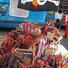 saucisses au marché by graceloves