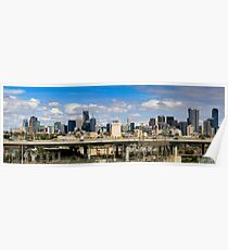 CITYLINK MELBOURNE PANORAMA Poster