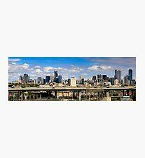 CITYLINK MELBOURNE PANORAMA Photographic Print
