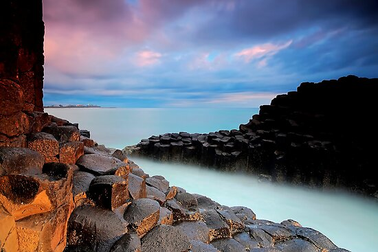 Giants Causeway - Fingal Headland by Maxwell Campbell