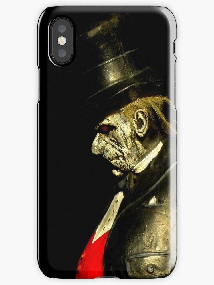 Grumpy iPhone Case by artisandelimage