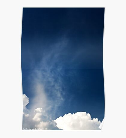 Steam in the Sky Poster