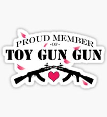 Join ToyGunGun Today! Sticker