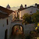 off to school, Marvao, Alto Alentejo, Portugal by Andrew Jones