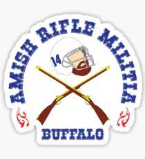 Ryan Fitzpatrick - Amish Rifle Militia Sticker