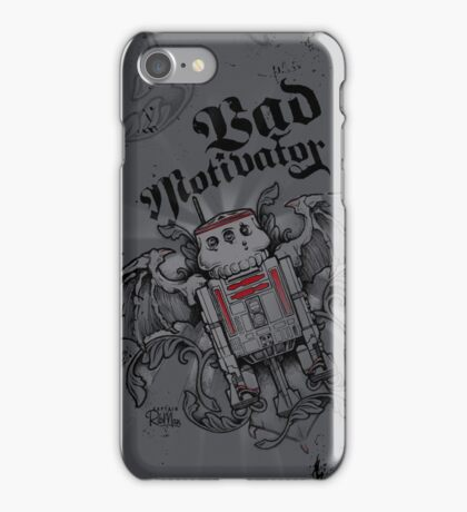 R5D4 - Bad Motivator iPhone Case/Skin