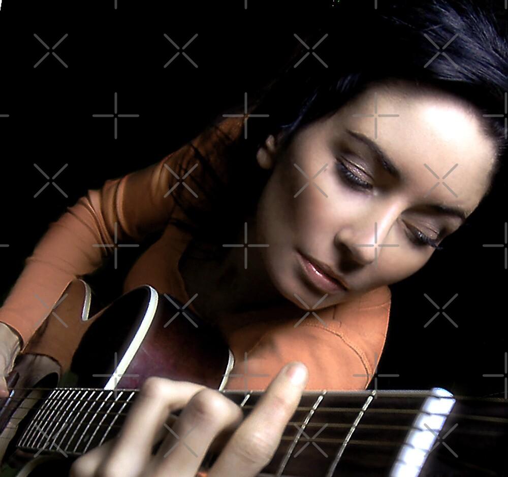Me & my guitar by Melanie Collette