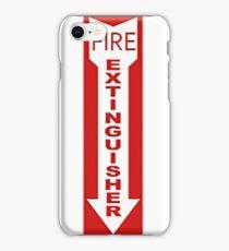 Fire Extinguisher iPhone Case/Skin