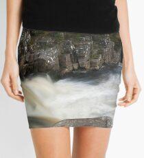 Black Water Falls Mini Skirt