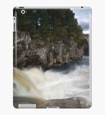 Black Water Falls iPad Case/Skin