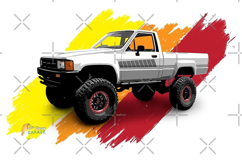 Toyota 1985 4x4 Standard Cab Pickup Truck by 6thGear