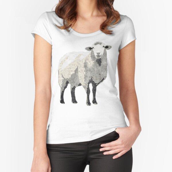 Sheep - Laudea Martin Fitted Scoop T-Shirt
