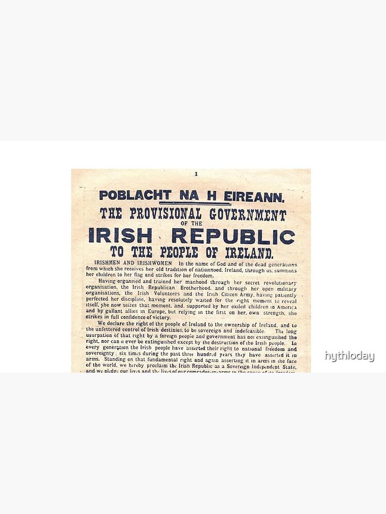 Proclamación irlandesa de 1916 de hythloday