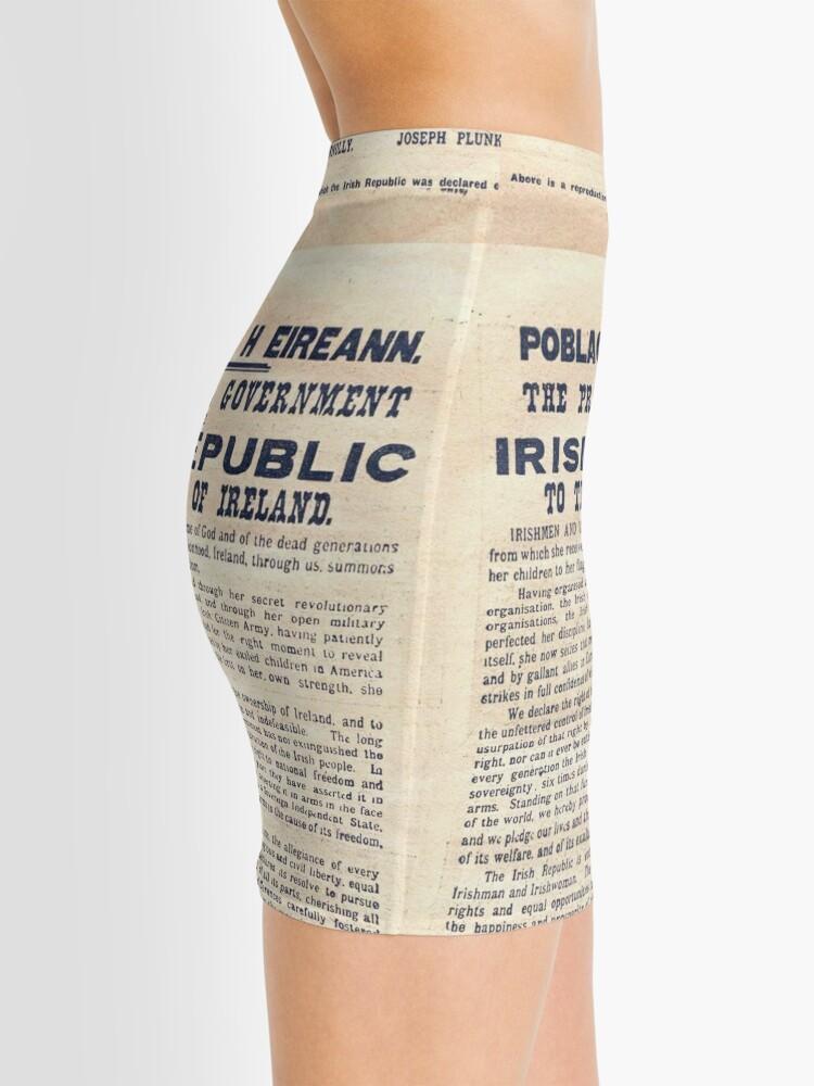 Vista alternativa de Minifalda Proclamación irlandesa de 1916
