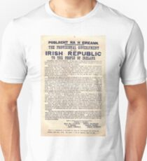 1916 Irish Proclamation T-Shirt