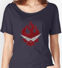 Gurren Lagann typography Women's Relaxed Fit T-Shirt