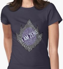 Code GEASS Typography Women's Fitted T-Shirt