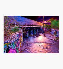 Urban Sunset Photographic Print
