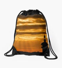 Carillon Sunset Drawstring Bag