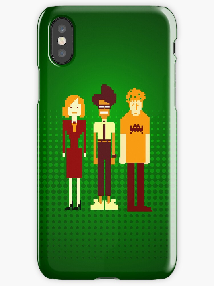 The IT Crowd iPhone Case by Tom Trager