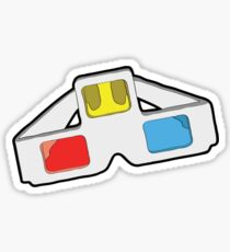 4D is The Future. Sticker