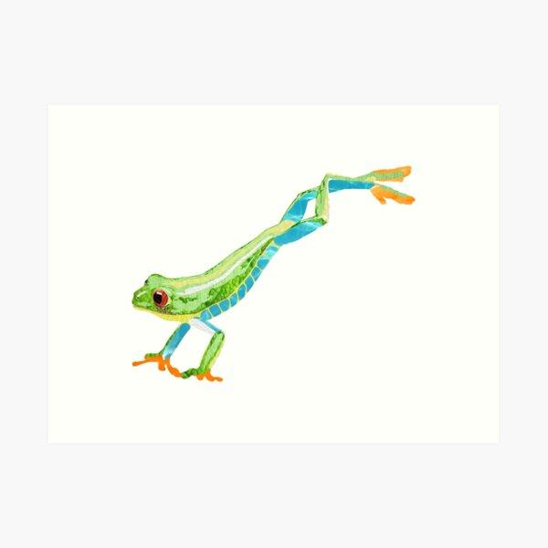 Frog - Laudea Martin Art Print