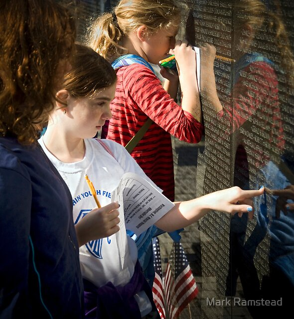 Touching the Wall by Mark Ramstead