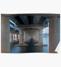 Mapo Bridge, Seoul, Korea Poster