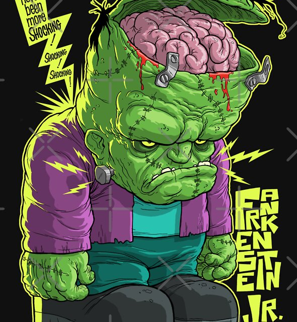 FRANKENSTEIN JR. by MINION-FACTORY
