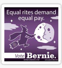 Bernie Halloween Sticker Equal Rites Sticker