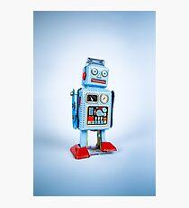 Clockwork Robot Photographic Print