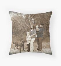 Family :) Throw Pillow