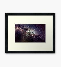 Milky Way near Cygnus  Framed Print