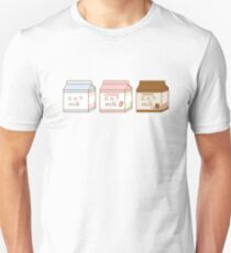 Milk Box Set Unisex T-Shirt