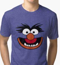 Animal Muppet (Orange Lips&Nose) Tri-blend T-Shirt