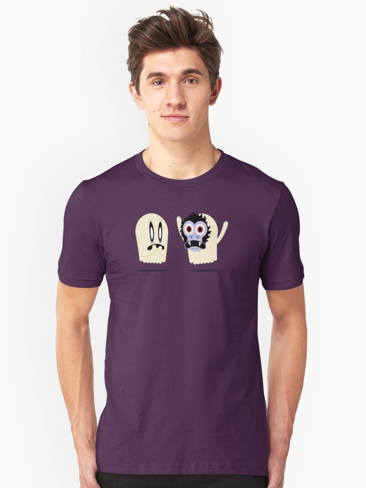 Scaredy Ghost Unisex T-Shirt Front